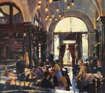 John Hammond Into The Light The Wolseley painting