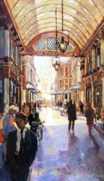 John Hammond Light and Shade Leadenhall painting