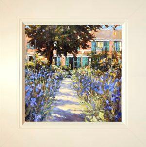 John Hammond A Stroke of Blue framed