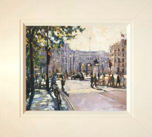 John Hammond Across the Square framed