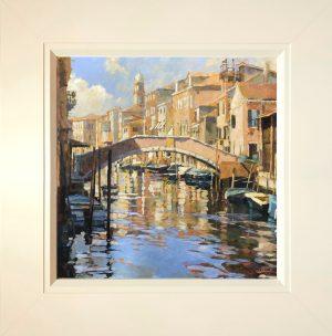 John Hammond Gentle Sun framed