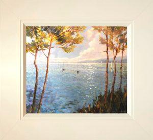 John Hammond Soft Light Through the Trees framed