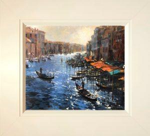 John Hammond The Glory of Venice framed