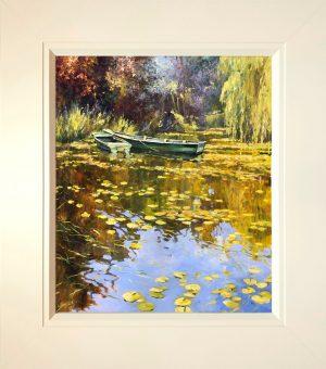 John Hammond The Green Boats framed