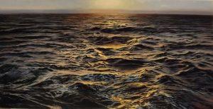 Sunset waves Pau Navarro