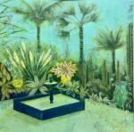 Emma Forrester Jardin Marjolle green garden painting