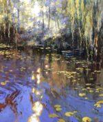 John Hammond Sun on the Water impressionist painting