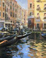 John Hammond The Heart of Venice impressionist art