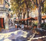 John Hammond Spring Promenade impressionist art