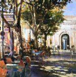 John Hammond Clear Day Avignon modern painting