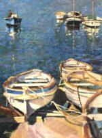 John Hammond Mediterranean Blue painting