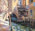 John Hammond Dreaming of Venice canal painting