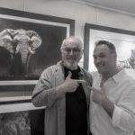 Richard Symonds and Peter Egan bw