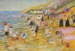 Leonard Dobson When We Were Young seaside art