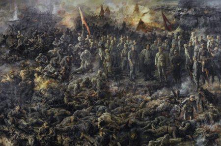 Finshed Shen Ming Cun Battle painting