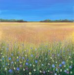 John Connolly IN THE HEAT OF THE DAY meadow canvas