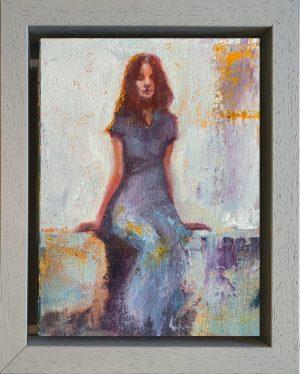 Julie Cross Bench framed
