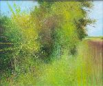 Summer Hedge John Connolly abstract landscape
