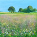 Summer Meadow John Connolly painting