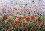Tracey Thornton Dawn Awakening 3d floral collage