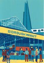 Jennie Ing Borough Market artwork