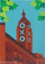 Jennie Ing Oxo Building artwork print