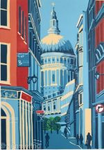Jennie Ing St Pauls From Watling Street modern print
