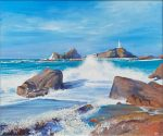 John Connolly Corbiere Lighthouse painting
