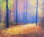 John Connolly The Colour of Autumn painting